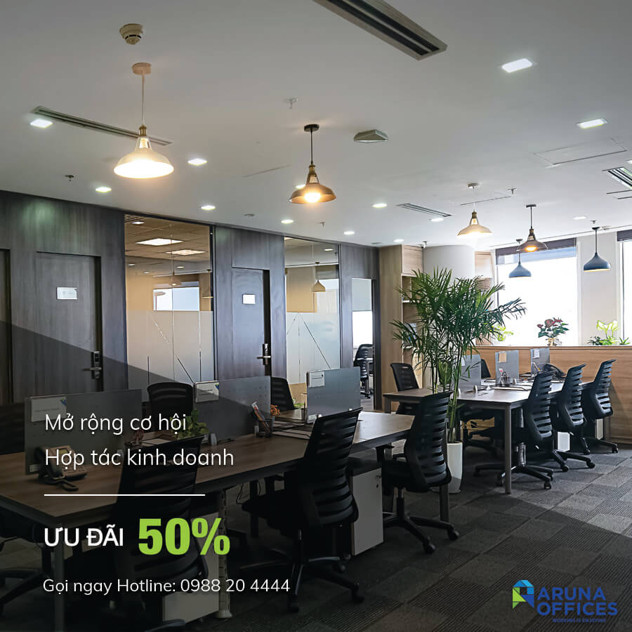 Aruna Offices - ưu đãi 50%