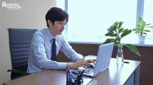 Phòng làm việc riêng tại Hà Nội - Aruna Offices Licogi 13 Tower