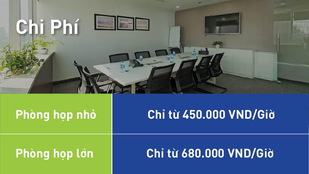 bảng giá phòng họp Aruna Offices