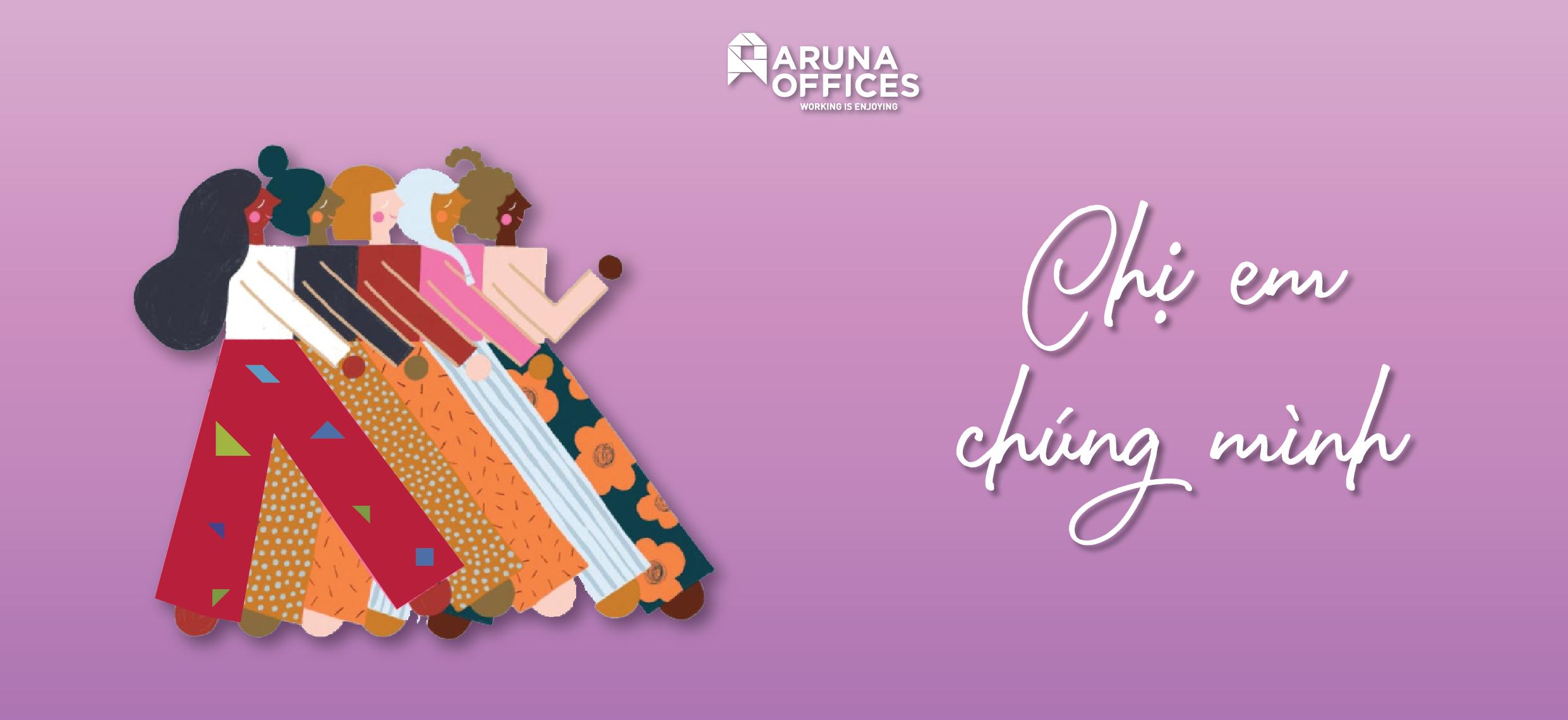 Aruna Offices - Chúc mừng ngày Phụ nữ Việt Nam 20/10