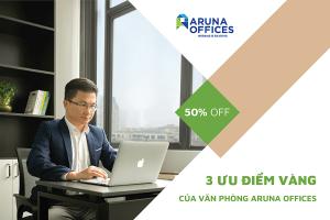 Aruna Offices - tấm thẻ vip