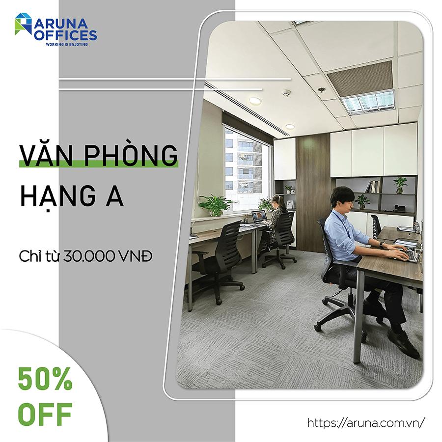 Aruna Offices - Ưu đãi 50%