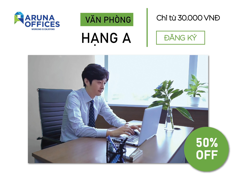 Aruna Offices ưu đãi 50%