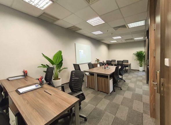 Phong lam viec rieng Aruna Offices IPH