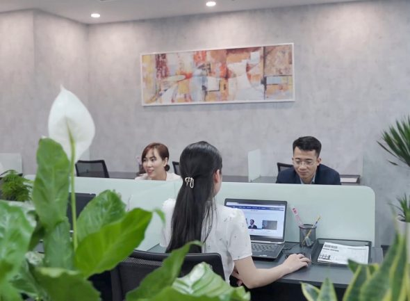 cho ngoi lam viec Aruna Offices Ceo Tower Pham Hung